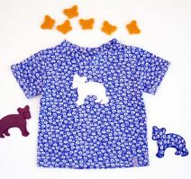 Geblümtes T-Shirt