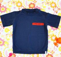 T-Shirt, blau