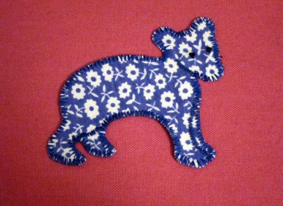 Geblümter Bär
