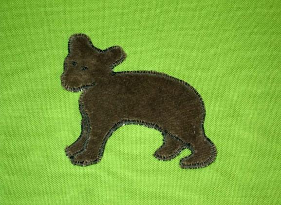 Grüner Bär